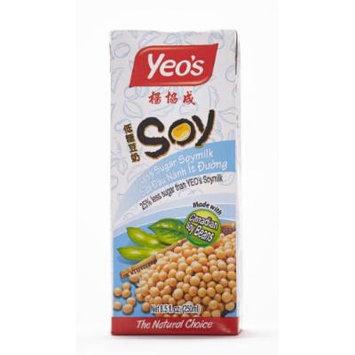 Yeo' Less Sugar Soymilk (Pack of 24)