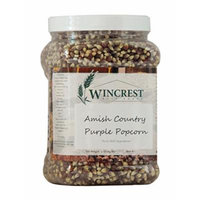 Amish Country Purple Popcorn - 4 Lb Tub (No GMO's)