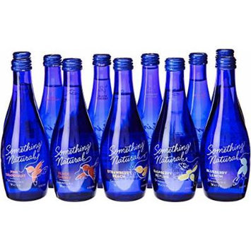 Something Natural Sparkling Water, Variety Pack, 15 Pound (Pack of 12)