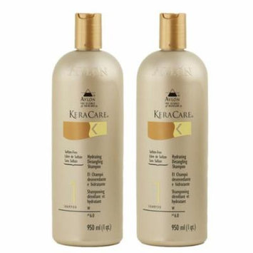 Keracare Hydrating Detangling Shampoo 32oz (Pack of 2)