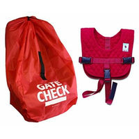Baby B'Air Toddler Flight Vest with Gate Check Car Seat Bag
