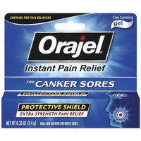 Orajel Film-Forming Canker Sore Gel 0.33 oz Pack of 6
