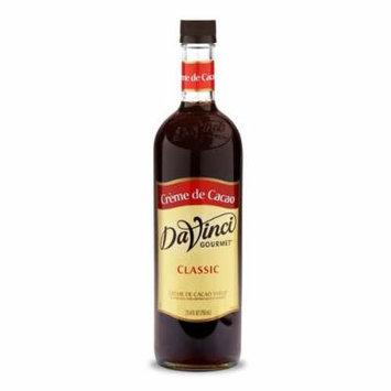 DaVinci Creme de Cacao Syrup 750 mL