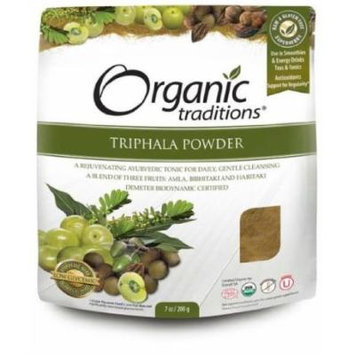 Triphala Powder 200g -Raw Food Diet- Brand: Organic Traditions