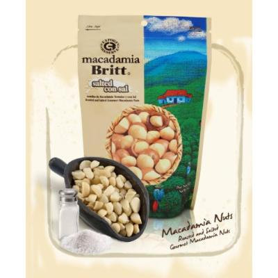 Salted Gourmet Macadamia Nuts By Cafe Britt