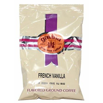 Gavina French Vanilla Flavored Blend Ground Pre-Portioned Packs 42 X 2 Oz #604