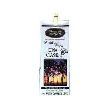 Hawaiian Isles Value Pack Coffee Ground Kona Classic 4 Bags