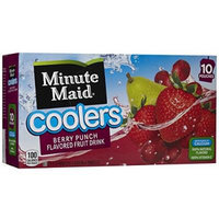 Minute Maid Berry Punch Coolers - 6.75 oz - 10 ct