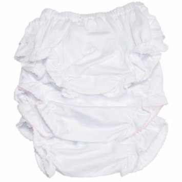 Kissy Kissy - Basic Diaper Cover 3 Set - White-12-18mos