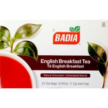 Badia English Breakfast Natural Antioxidant Tea 50 Bags