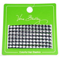 Vera Bradley Hair Elastics in Midnight Paisley