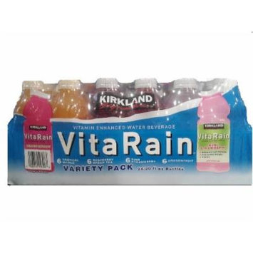Signature Vita Rain Enhanced Water Beverage, 20-Ounce (Pack of 24)