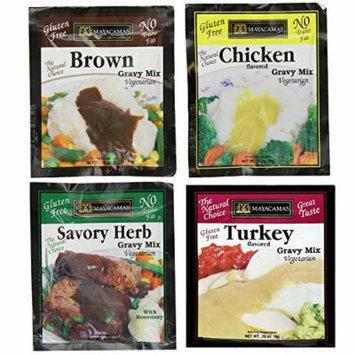 MAYACAMAS , Gravy-Variety 4 Pack [Gluten Free] [4pk]