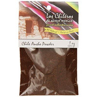 Los Chileros Chile Ancho, Powder, 1 Ounce (Pack of 12)