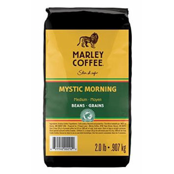 Marley Coffee Mystic Morning, Whole Bean, 2 Pound