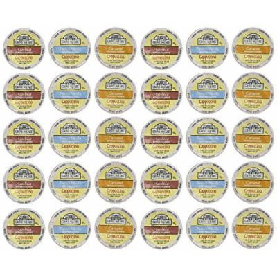 Grove Square Cappuccino Variety Pack, 30 Single Serve Cups