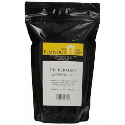Elmwood Inn Fine Teas, Peppermint Caffeine-free Herbal Tea, 8-Ounce Pouch