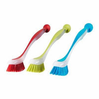 Ikea 301.495.56 Plastis Dishwashing Brush, Assorted Colors, Set of 6