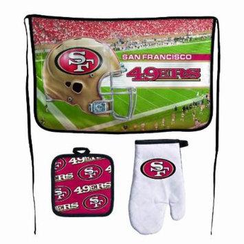 NFL San Francisco 49ers Premium Barbeque Tailgate Set
