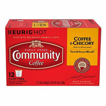 Community Coffee New Orleans Blend Coffee & Chicory Single-Serve Cups, 72 Count