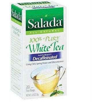 Salada Pure White Tea Naturally Decaffeinated