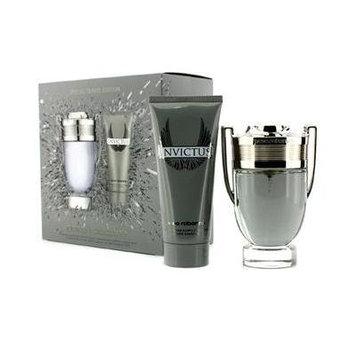 Paco Rabanne Invictus Special Travel Edition Coffret: Eau De Toilette Spray 100ml/3.4oz + All Over Shampoo 100ml/3.4oz - 2pcs