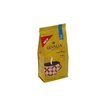 Gevalia Kaffe House Blend Medium/Dark Ground 12 oz (Pack of 2)