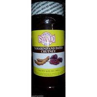 Indian Groceries, Swad Tamarind & Dates Chutney - 16oz., 456g.