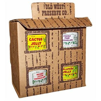School House Cactus Jelly 4 Jar Gift Box