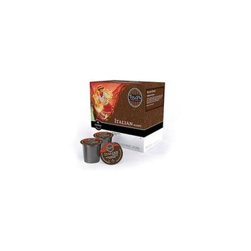 Tully's Coffee K-Cups Italian Roast Coffee, 18 count(Case of 2)