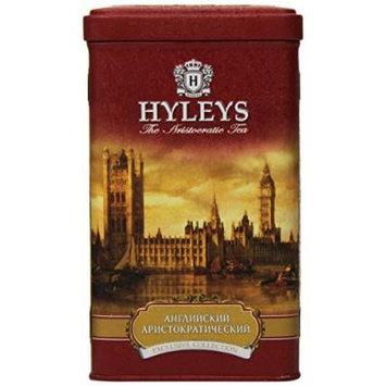 Hyleys Tea English Aristocratic Loose Black Tea, 4.4 Ounce Tin