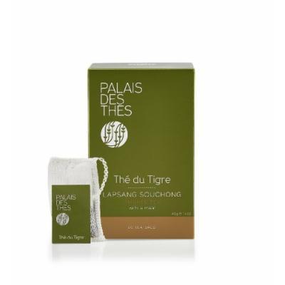 Palais des Thés Thé du Tigre Smoked Tea, 20 Tea Bags (40g/1.4oz)