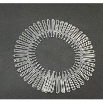 Flexible Headbands Stretch Headband Headbands Women (3 pieces Clear)