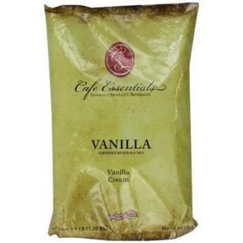 Café Essentials Vanilla Cream Beverage Mix, 3.5 Pound Bag