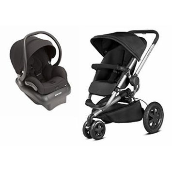 Quinny 2015 Buzz Xtra 2.0 Stroller with Maxi-Cosi Mico AP 2.0 Infant Car Seat, Black