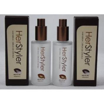 Herstyler - Hair Serum with Argan Oil and Aloe Vera 2 fl oz / 60 ml 2 Pack