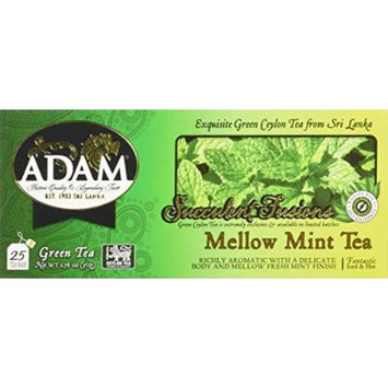 Adam Tea Packs, Mellow Mint, 150 Count