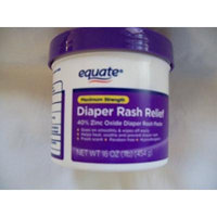 Equate Maximum Strength Diaper Rash Relief, 16 oz