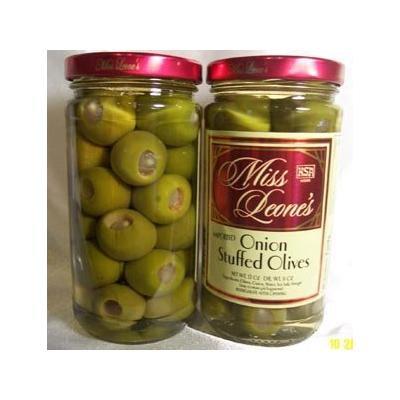 Onion Stuffed Gourmet Queen Spanish Olives 12 oz. Jar