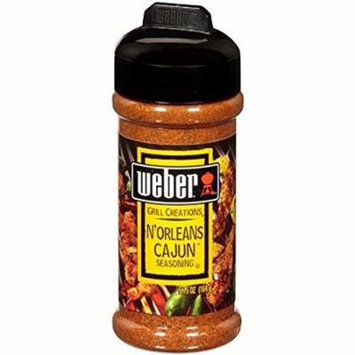 Weber Grill Creations N'orleans Cajun Seasoning, 5.75 Oz