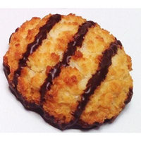 Poppies Belgian Coconut Macaroons - Chocolate Drizzled 1.4 Oz (40 Pack)