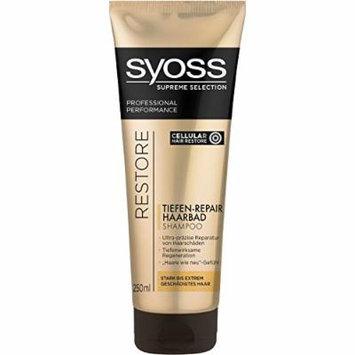 Syoss Supreme Selection Restore Deep Repair Shampoo 8.45 fl oz