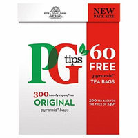 Pg Tips Pyramid Black Tea Pyramid Tea Bags 300Count Box