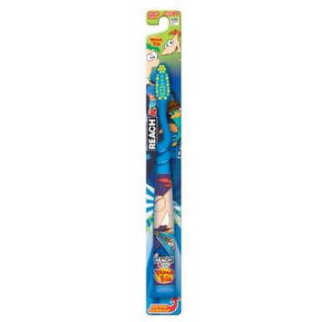 Reach Disney Phineas and Ferb Soft Youth Toothbrush