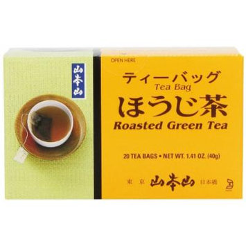 Yamamotoyama Roasted Green Tea Houjicha, 1.41-Ounce Boxes (Pack of 6)