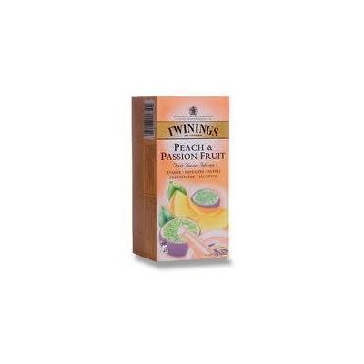 Twinings Peach & Passion Fruit Havoured Infution Tea 25 Sachets Net Weight 50 G.