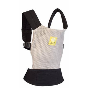 LILLEbaby Doll Carrier Silver Mesh