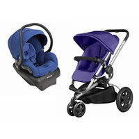 Quinny 2015 Buzz Xtra 2.0 Stroller with Maxi-Cosi Mico AP 2.0 Infant Car Seat, Purple/Blue