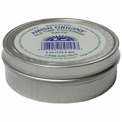 Amish Origins Old Time Chickweed Salve Tin, 4 Ounce
