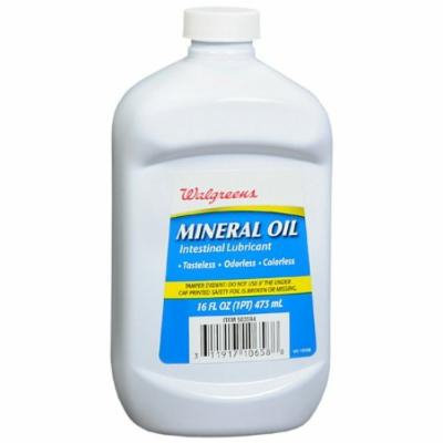 Walgreens Mineral Oil Intestinal Lubricant 16 oz